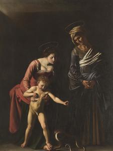 Madonna Palafrenieri by Caravaggio