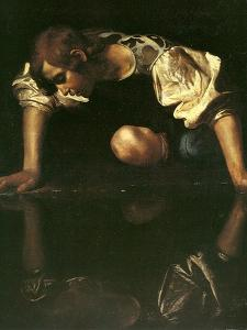 Narcissus, 1598-1599 by Caravaggio