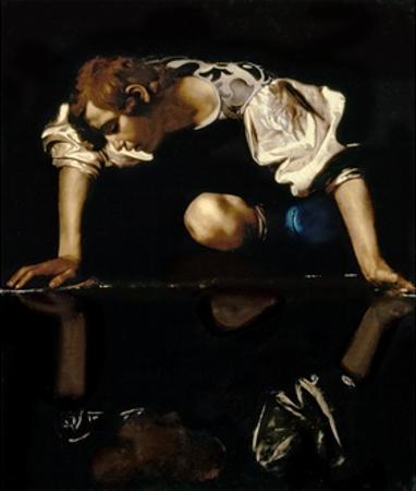 Narcissus, C.1597-99 by Caravaggio
