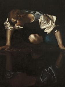 Narcissus by Caravaggio
