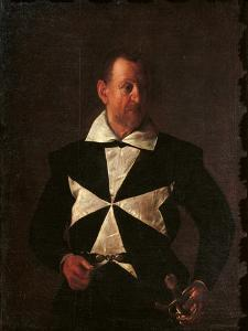 Portrait of Alof De Wignacourt by Caravaggio