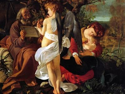 Rest on the Flight into Egypt, Ca. 1597 by Caravaggio