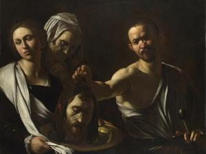 Salome Receives the Head of John the Baptist, C. 1608-1610 by Caravaggio