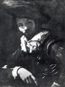 Self-Portrait by Caravaggio