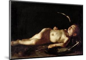 Sleeping Cupid, 1608 by Caravaggio