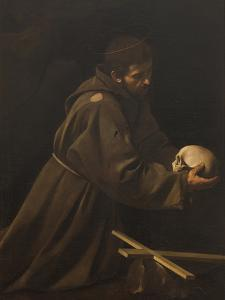 St Francis in Meditation by Caravaggio