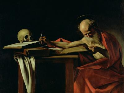 St. Jerome Writing, circa 1604