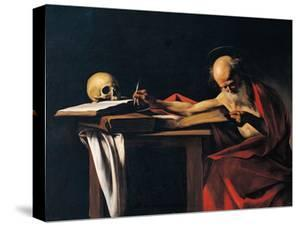 St Jerome by Caravaggio