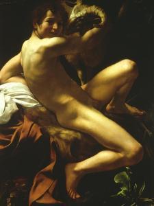 St John the Baptist, 1602 by Caravaggio