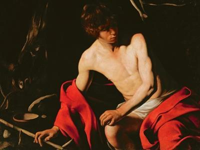 St. John the Baptist, c.1598-99 by Caravaggio