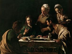 Supper at Emmaus, 1606 by Caravaggio