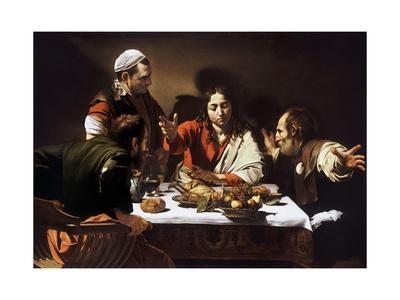 Supper at Emmaus by Caravaggio