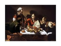 Seven Works of Mercy-Caravaggio-Mounted Giclee Print