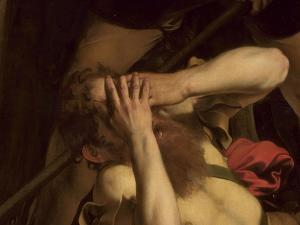 The Conversion of St. Paul (Detail) by Caravaggio
