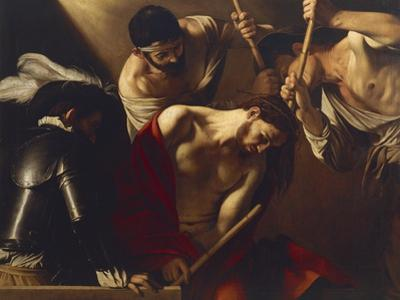 The Crowning with Thorns by Caravaggio
