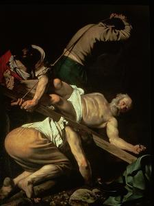 The Crucifixion of St. Peter, 1600-01 by Caravaggio