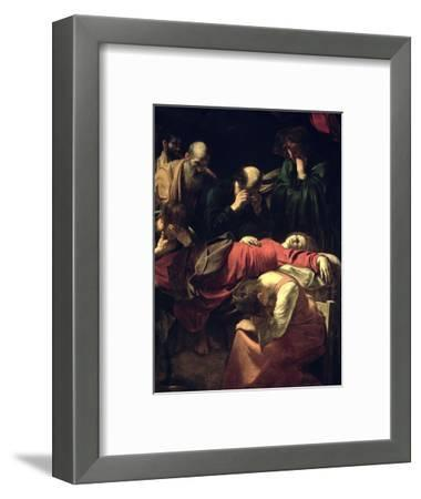 The Death of the Virgin, 1605-06
