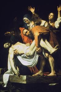 The Laying in the Tomb (The Deposition/The Entombment), 1602-16044 by Caravaggio