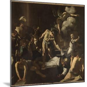 The Martyrdom of St. Matthew by Caravaggio
