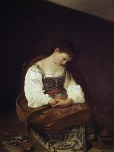 The Repentant Magdalene by Caravaggio