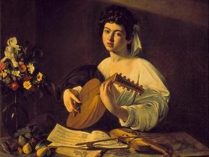 Young Lute Player, C. 1595 by Caravaggio