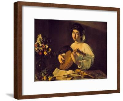 Young Lute Player, C. 1595