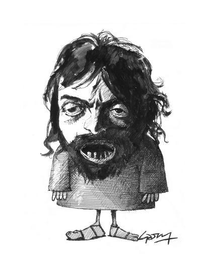 Caravaggio-Gary Brown-Giclee Print