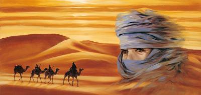Caravan II-Ali Mansur-Art Print