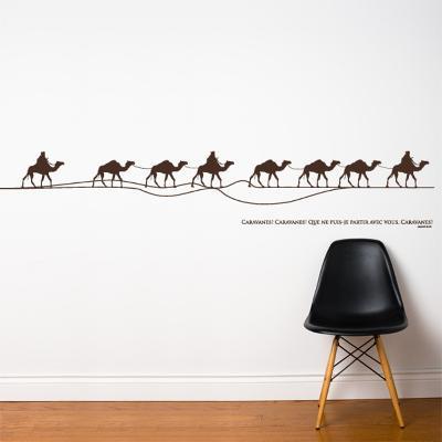 Caravan Wall Decal--Wall Decal