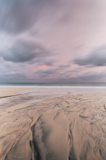 Carbis Bay Beach at Dawn, St. Ives, Cornwall, England, United Kingdom, Europe-Mark Doherty-Photographic Print