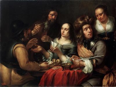 Card Game, 17th Century-Dingeman Van Der Hagen-Giclee Print