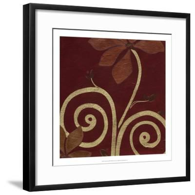 Cardamon Floral III-June Vess-Framed Premium Giclee Print