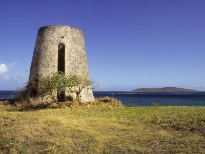 Carden Plantation Sugar Mill on Teague Bay, St. Croix, US Virgin Islands-Alison Jones-Photographic Print