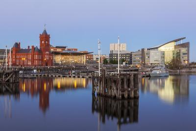 Cardiff Bay, Cardiff, Wales, United Kingdom, Europe-Billy Stock-Photographic Print