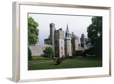 Cardiff Castle, Wales, UK--Framed Giclee Print