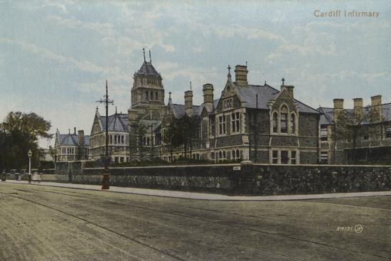 Cardiff Infirmary--Photographic Print
