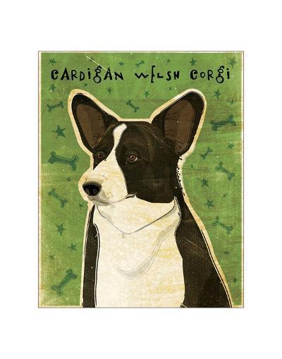 Cardigan Welsh Corgi-John Golden-Giclee Print