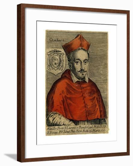 Cardinal Alexander Perett, 1585--Framed Giclee Print