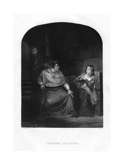 Cardinal Beaufort, 1860-J White-Giclee Print
