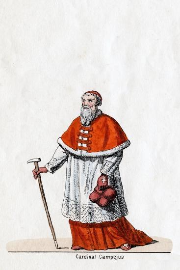 Cardinal Campeius, Costume Design for Shakespeare's Play, Henry VIII, 19th Century--Giclee Print