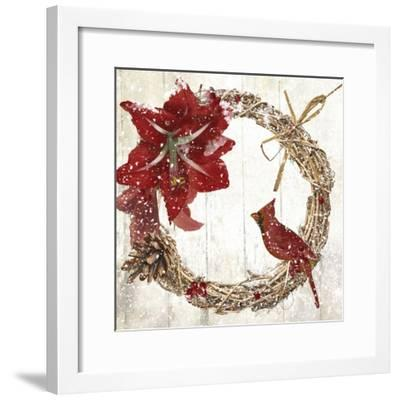 Cardinal Christmas II-Color Bakery-Framed Giclee Print