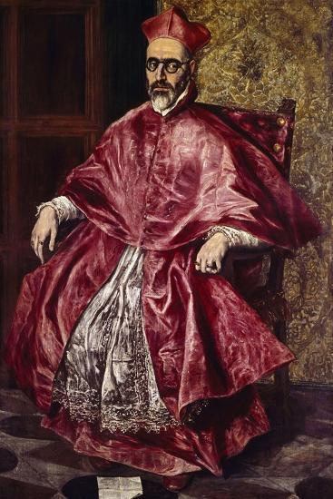 Cardinal Fernando Nino De Guevara, Ca.1601-El Greco-Giclee Print