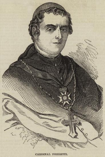 Cardinal Ferretti--Giclee Print