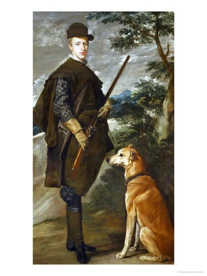 Cardinal-Infante Ferdinand of Austria (1609-1641), Governor of the Netherlands-Diego Velazquez-Giclee Print