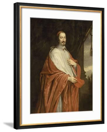 Cardinal Jules Mazarin (1602-1661), vers 1650--Framed Giclee Print
