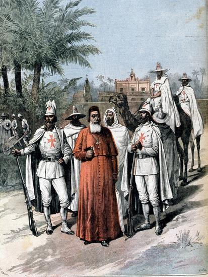 Cardinal Lavigerie, Founder of the Anti-Slavery Society, 1891--Giclee Print