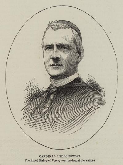 Cardinal Ledochowski--Giclee Print