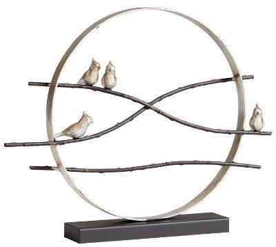 Cardinal Limb Sculpture--Home Accessories