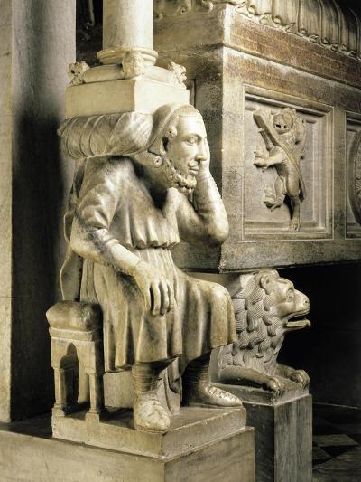 Cardinal Longhi's Tomb-Ugo Da Campione-Giclee Print