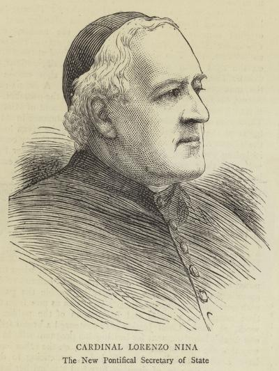 Cardinal Lorenzo Nina--Giclee Print